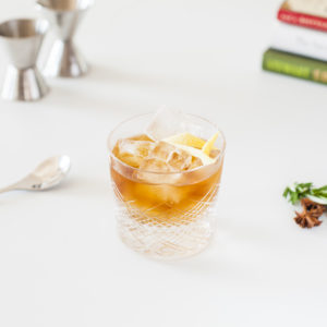 Snickers Old Fashioned Cocktail